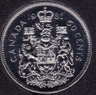1981 - NBU Canada 50 Cents