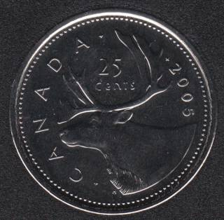 2005 P - NBU - Canada 25 Cents