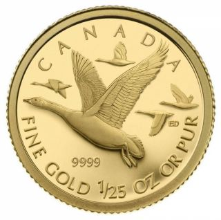 2011 - 50 Cents - 1/25-Oz Gold Coin - Geese