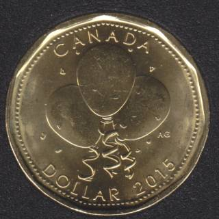 2015 - B.Unc - Birthday - Canada Dollar