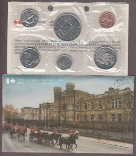 1978 - 50 cents Square Jewels - BRILLIANT UNCIRCULATED SET