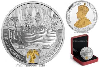 2017 - $20 - 1 oz Pure Silver - Battlefront Series - First World War - The Battle of Passchendaele