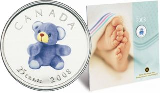 2008 -  *BABY GIFT SET* WITH 25 CENT COLORED