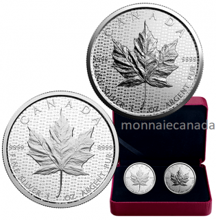 2017 - $5 - 1 oz. Pure Silver 2-Coin Set - 30th Anniversary of the Silver Maple Leaf