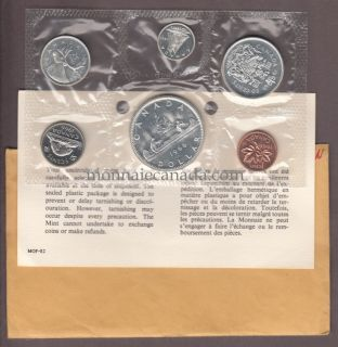 1966 - MRC - PROOF LIKE SET (ENSEMBLE HORS CIRCULATION)