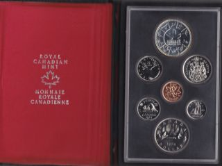 1978 CANADA DOUBLE DOLLAR PROOF SET ROUND JEWELS 50 CENT
