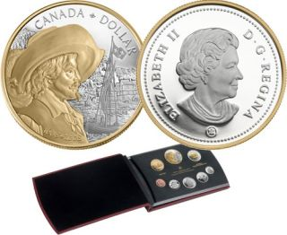 2008 PROOF SET – CELEBRATING THE 400TH ANNIVERSARY OF QUEBEC CITY