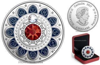 2017 - $3 - Pure Silver coin – Zodiac - Aries