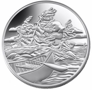 2006 $20 Fine Silver Coin - National Parks - Georgian Bay Islands - Tax Exempt