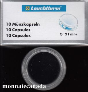 COIN CAPSULES 21 MM