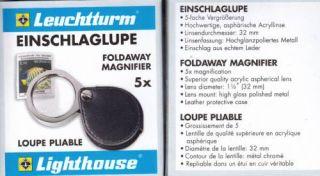 MAGNIFIER FOLDAWAY LIGHTHOUSE 5X