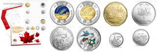 2017 - My Canada, My Inspiration Uncirculated 8-Coin Set