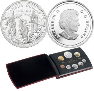 2012 - Silver Dollar Proof Set - 200th Anniversary of the War of 1812
