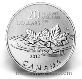 2012 - $20 for $20 - Fine Silver -  Farewell to the penny Canada
