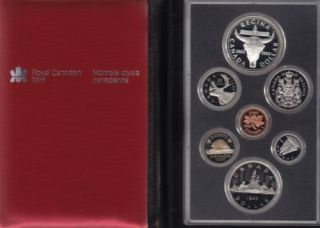 1982 CANADA DOUBLE DOLLAR PROOF SET