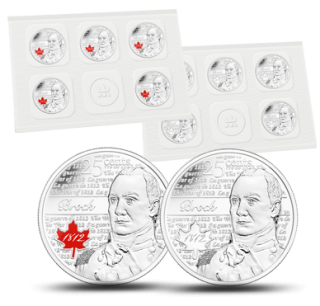 2012 - Major-General Sir Isaac Brock - 25-cent Circulation