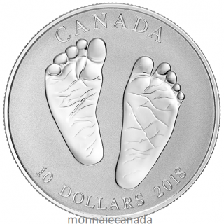 2018 - $10 - Baby Gift - Welcome to the World Silver Coin