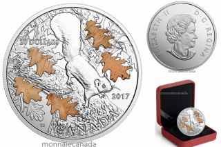 2017 - $20 - 1 oz. Pure Silver Coin – The Nutty Squirrel and the Mighty Oak