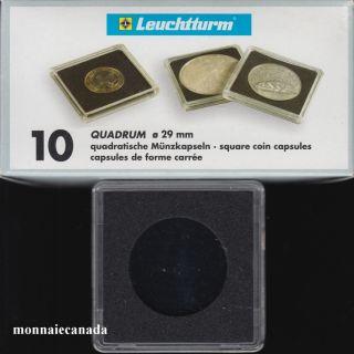 Capsules QUADRUM 29 MM