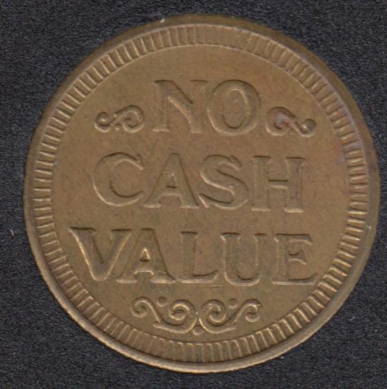 Arcade - No Cash Value - Gaming Token
