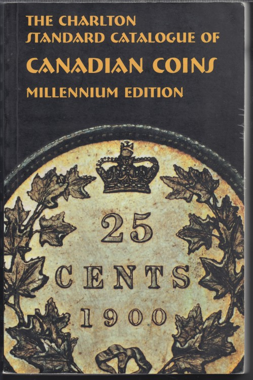 2000 - Charlton - Standard Catalogue of Canadian Coins - Usagé