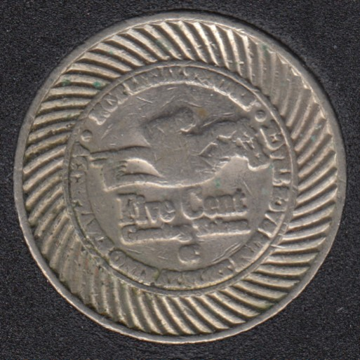 Arcade - Race Track - Gaming Token -5¢