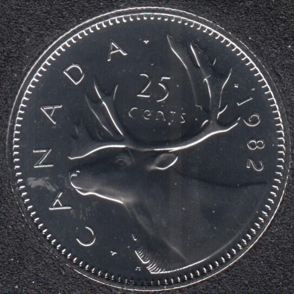 1982 - NBU - Canada 25 Cents