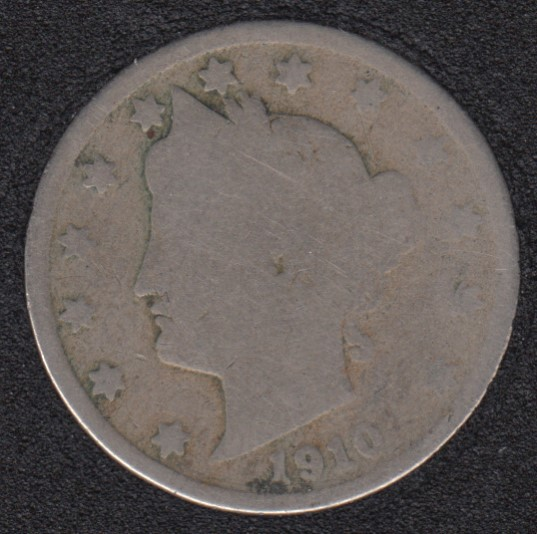 1910 - Liberty Head - 5 Cents