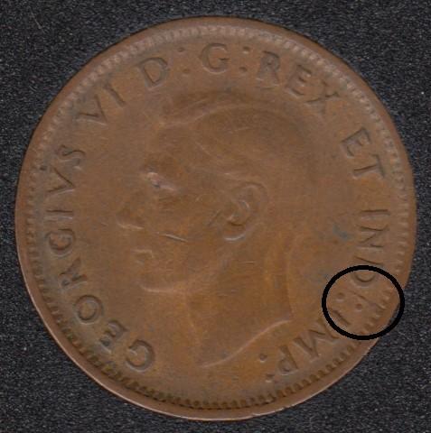 1943 - Break Between S & DOT - Canada CenD