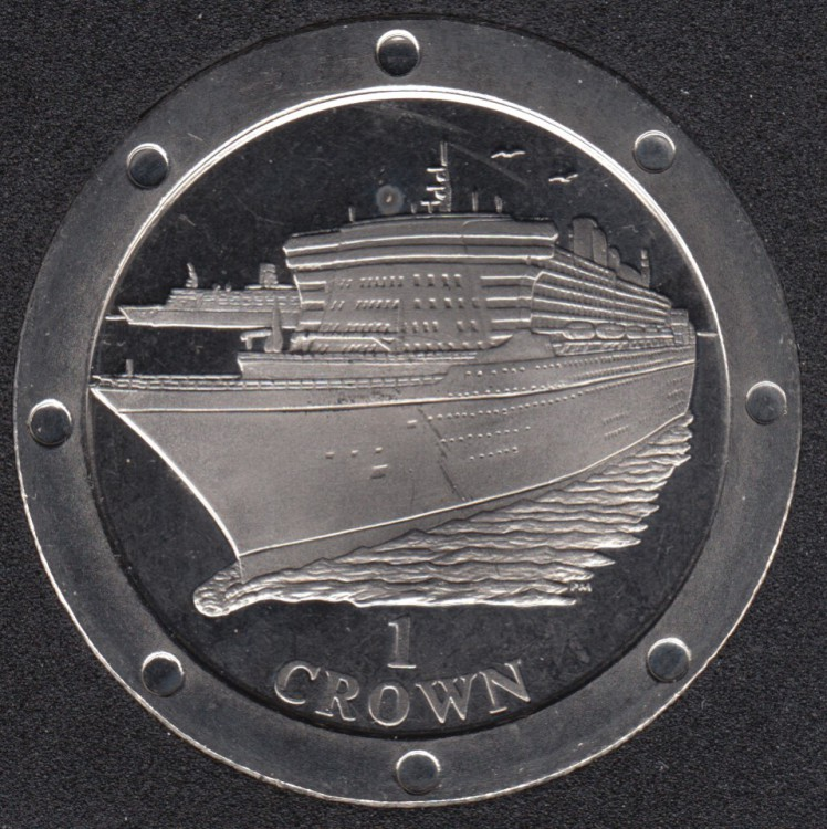 2004 - Crown - Ship Queen Mary - Isle of Man