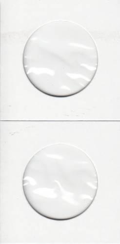Paquet de 100 Flipettes de carton 2X2 pour les 50 cents / 2 Dollars
