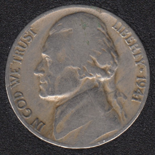 1941 - Jefferson - 5 Cents