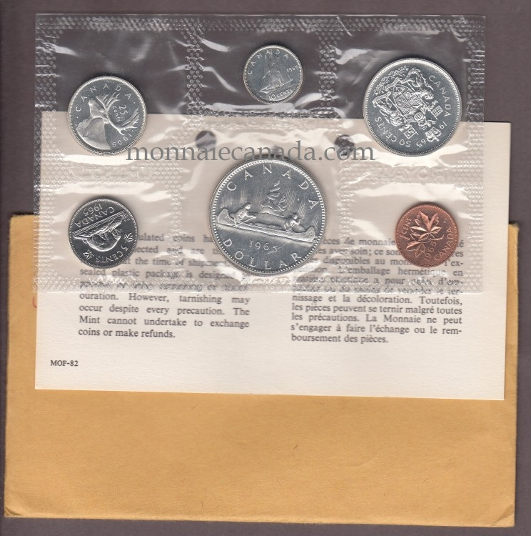1965 - MRC - PROOF LIKE SET (ENSEMBLE HORS CIRCULATION)