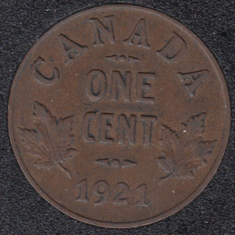 1921 - Canada Cent