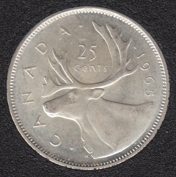 1965 - Canada 25 Cents