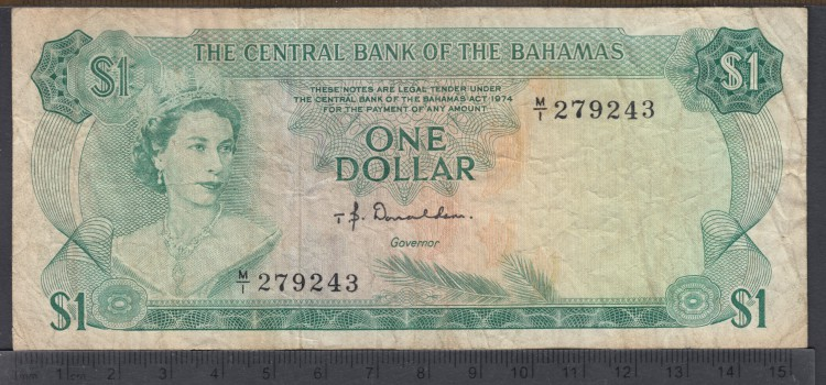 1974 - 1 Dollar - Bahamas