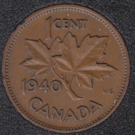 1940 - Canada Cent