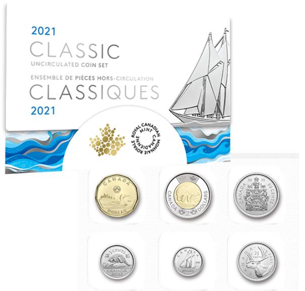 2021 - Classic Canadian Uncirculated Set
