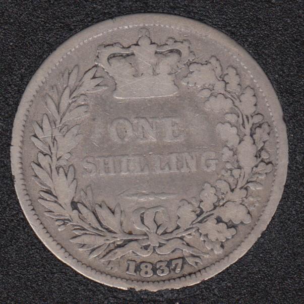 1837 - Shilling - Great Britain