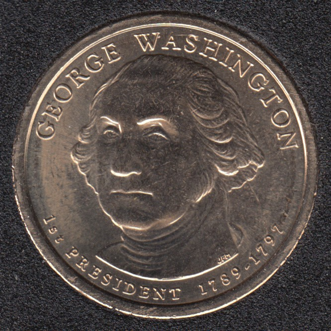 2007 D - G. Washington - 1$
