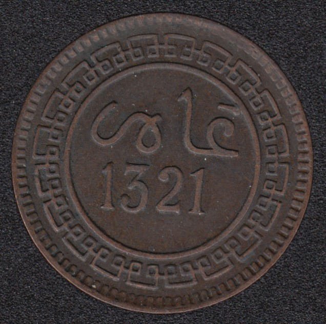 1903 (1321) - 5 Malunas - Maroc