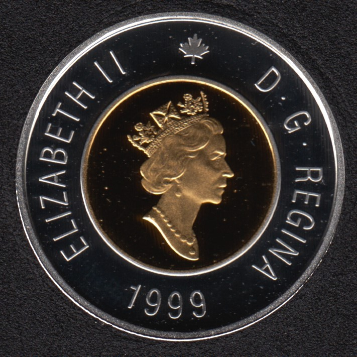 1999 - Proof - Argent - Canada 2 Dollar