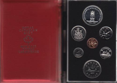 1977 CANADA DOUBLE DOLLAR SPECIMEN SET