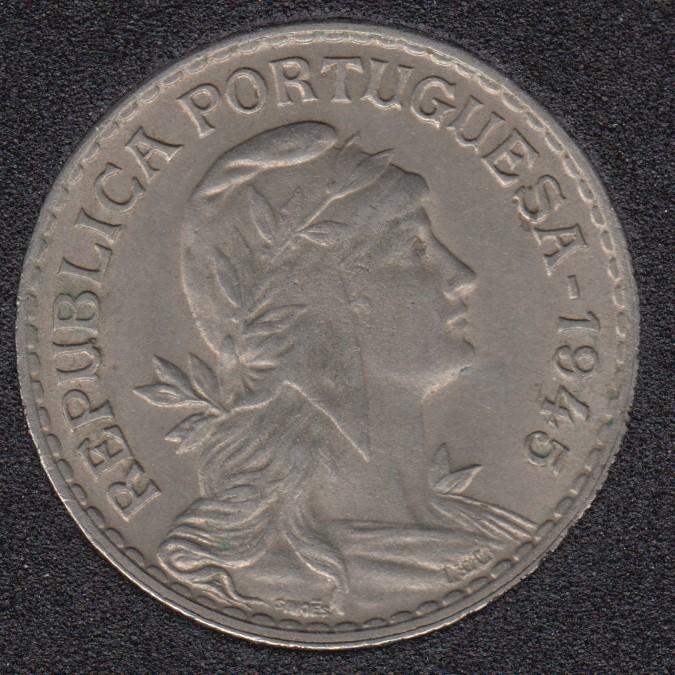 1945 - 1 Escudo - Unc - Portugal