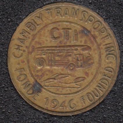 Autobus - Chambly Transport Inc.