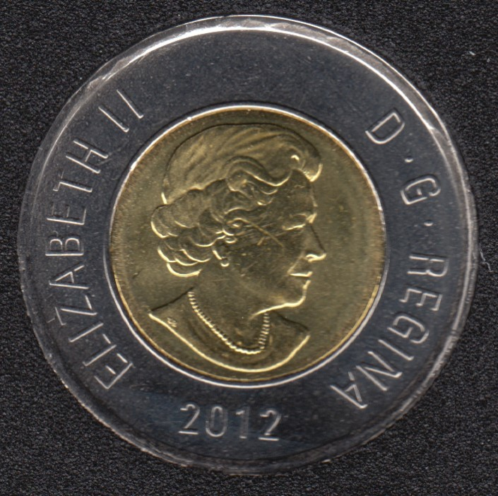 2012 - B.Unc - New Generation - Canada 2 Dollars