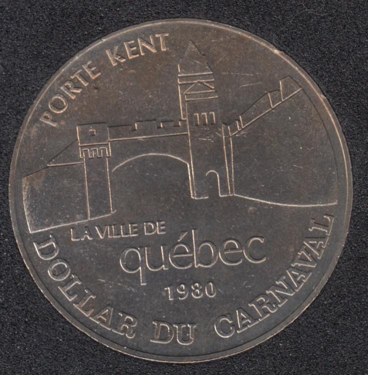 Quebec -1980 Carnival of Quebec - Eff. 1962/Porte Kent - Trade Dollar