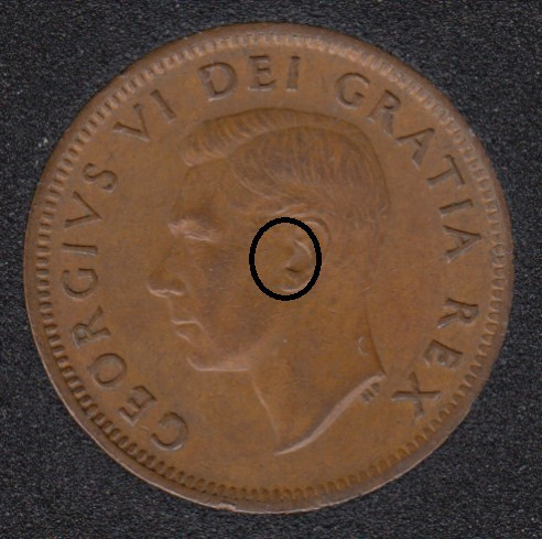 1952 - Earing Aid - Canada Cent