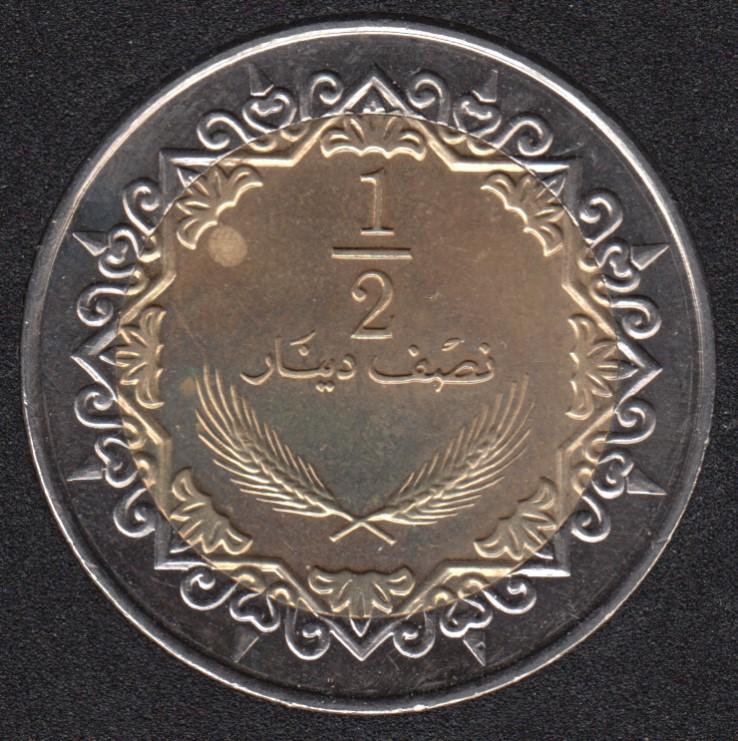 2004 - 1/2 Dinar - Libye