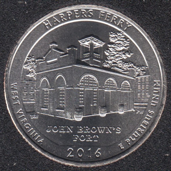 2016 D - Harpers Ferry - 25 Cents